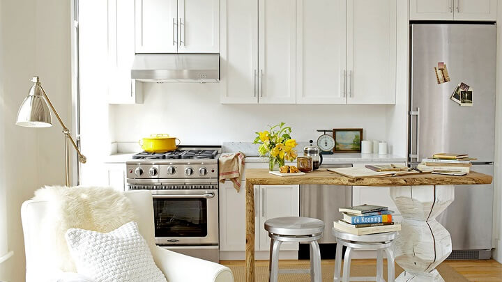 9 Tips and Ideas For Kitchens In Small Spaces