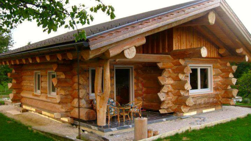 HOW TO SEW A WOODEN HOUSE OUTSIDE