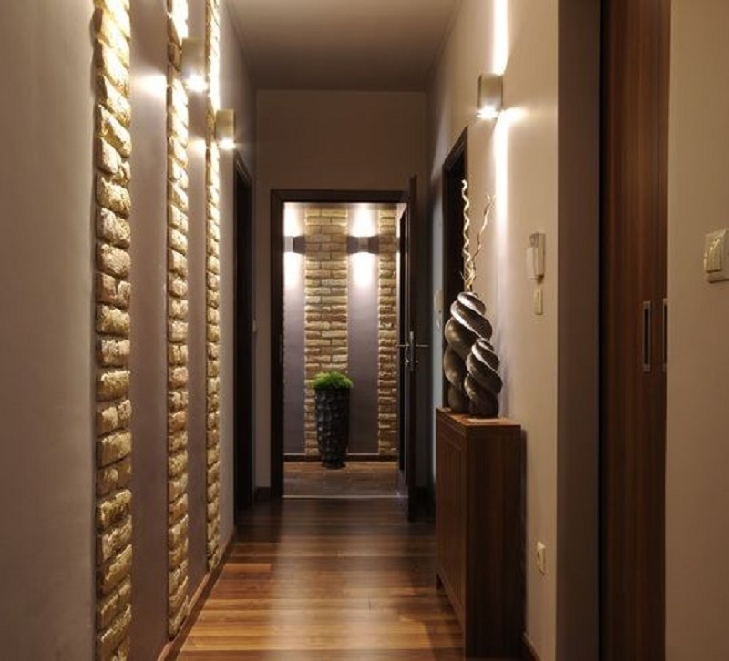 Decorate hallway