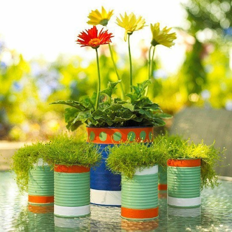 How to make flower pots out of plastic bottles