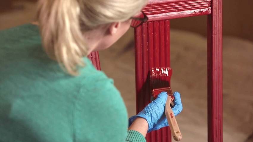 How to painting wooden furniture