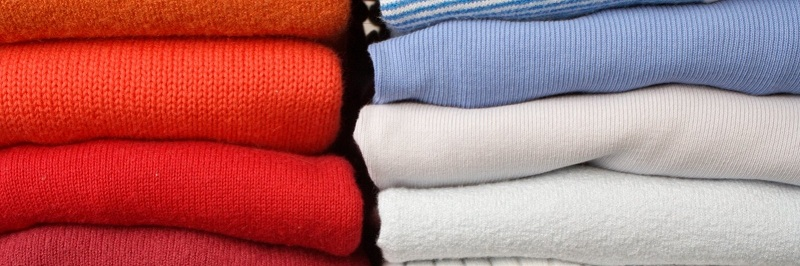 Separate clothes by colors, sizes, and events