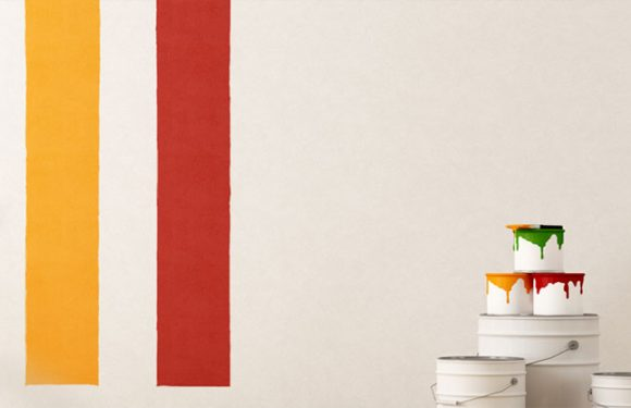 How to paint walls to renovate a house