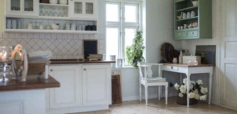 Best types of shelving for a kitchen