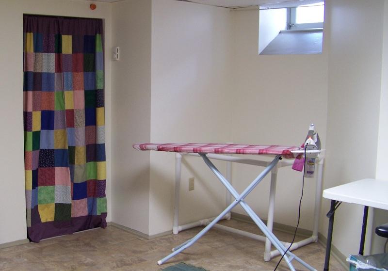 The ironing corner