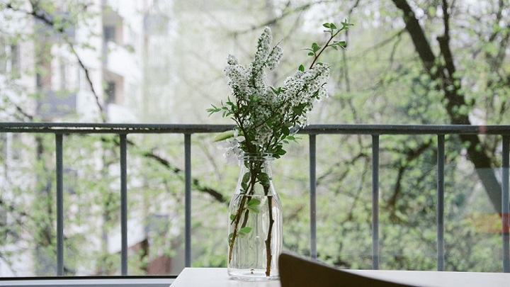 green color in the decoration