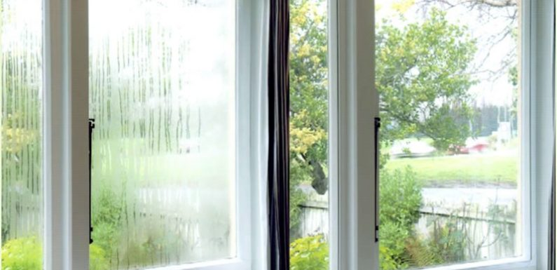 Double glazing and condensation: What you need to know