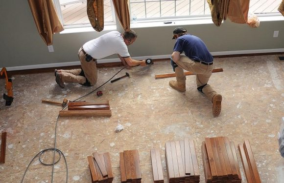 When is the best time to install hardwood flooring